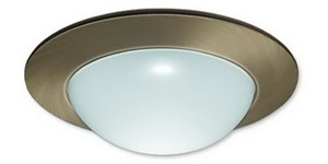 Liton Lightiing LR1423W - Frosted Glass Dome White