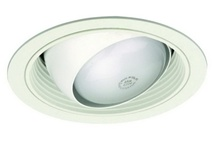 Liton Lightiing LR48W - Adjustable Eyeball w/ Baffle White