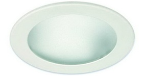 Liton Lightiing LRS922W - Deco Frosted Glass w/ Reflector White