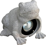 Dabmar LV-FROG  Granite Stone Frog Garden Accent Light Granite Stone