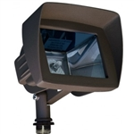 Dabmar LV105-HOOD-BZ Cast Aluminum Directional Area Flood Light with Hood Bronze