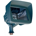 Dabmar LV105-HOOD-G Cast Aluminum Directional Area Flood Light with Hood Green