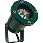 Dabmar LV108-G Cast Aluminum Directional Spot Light Green