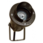 Dabmar LV109-BZ Cast Aluminum Directional Spot Light with Hood Bronze