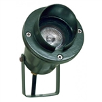 Dabmar LV109-G Cast Aluminum Directional Spot Light with Hood Dark Sand