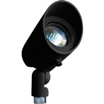 Dabmar LV130-B Cast Aluminum Directional Spot Light with Hood Black