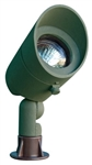 Dabmar LV130-G Cast Aluminum Directional Spot Light with Hood Green