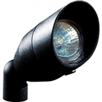 Dabmar LV190-B Cast Aluminum Directional Spot Light with Hood Black