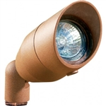 Dabmar LV190-DS Cast Aluminum Directional Spot Light with Hood Dark Sand