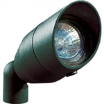 Dabmar LV190-PG Cast Aluminum Directional Spot Light with Hood Patina Green