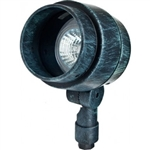 Dabmar LV201-PG Cast Aluminum Directional Spot Light Patina Green