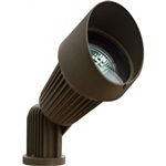 Dabmar LV203-BZ Cast Aluminum Directional Spot Light with Hood Bronze