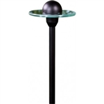 Dabmar LV204-B Cast Aluminum Accent Path-Walkway-Area Light Black