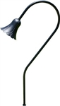 Dabmar LV216-B Cast Aluminum Path-Walkway-Area Light Black