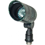 Dabmar LV222-VG Cast Aluminum Directional Spot Light with Hood Verde Green