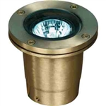 Dabmar LV25 Solid Brass In-Ground Well Light Brass