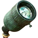 Dabmar LV29-AG Solid Brass Directional Spotlight Acid Green