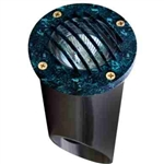 Dabmar LV295-VG Cast Aluminum In-Ground Well Light with Grill Verde Green
