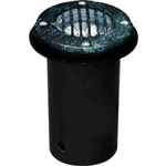 Dabmar LV300-VG-SLV Cast Aluminum In-Ground Well Light with Grill Verde Green