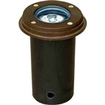 Dabmar LV301-SLV-BZ Cast Aluminum In-Ground Well Light Bronze