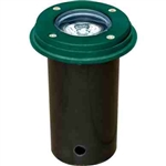 Dabmar LV301-SLV-G Cast Aluminum In-Ground Well Light Green