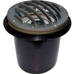 Dabmar LV305-BZ-MR Cast Aluminum In-Ground Well Light with Grill Bronze