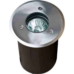 Dabmar LV311 Stainless Steel In-Ground Well Light Stainless Steel