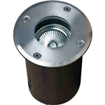 Dabmar LV314-SS Stainless Steel In-Ground Well Light with Adjustable Lamp Stainless Steel