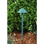 Dabmar LV41-AG Brass Path-Walkway-Area Light Acid Green