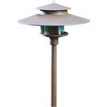 Dabmar LV70-BRZ Cast Aluminum Path-Walkway-Area Light Bronze