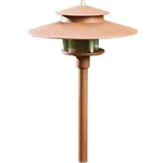Dabmar LV70-DS Cast Aluminum Path-Walkway-Area Light Dark Sand