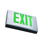 Liton Lightiing LX900G-2   - Metal L.E.D. Exit Sign w/ Battery
