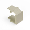 Leviton QuickPort Snap-In Blank Pack of 10-Ivory