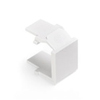 Leviton QuickPort Snap-In Blank Pack of 10-White