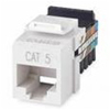 Leviton QuickPort Snap-In Ethernet Connector Category 5 8P8C-White
