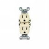 Leviton Duplex Receptacle Quickwire Push-In and Side Wired-Ivory
