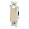 Leviton Decora Rocker Switch Single-Pole-Ivory