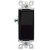 Leviton Decora Rocker Switch 3-Way-Black