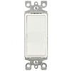 Leviton Decora Illuminated Rocker Switch Non-Grounding 3-Way-White