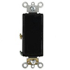Leviton 20A Decora Plus Rocker Switch 3-Way Commercial Grade-Black