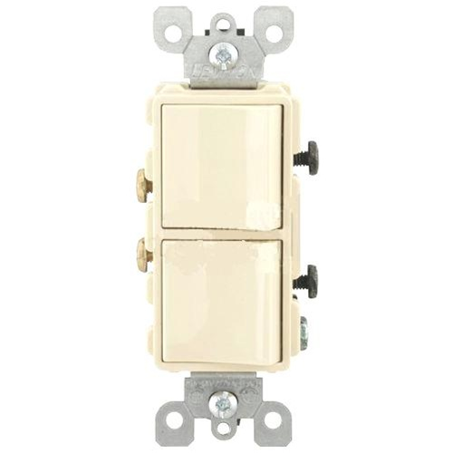 Leviton 5634 T 2?1416706843 leviton decora combination switch double single pole rocker light leviton 5634 wiring diagram at soozxer.org