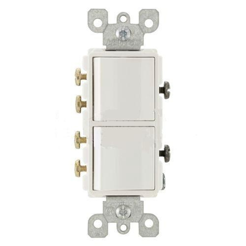 Leviton 3 Way Toggle Switch Wiring Diagram : Leviton decora combination switch double way rocker white