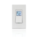 Leviton 24 Hour In-Wall Digital Timer With LCD Screen-Ivory
