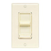 Leviton 450W Decora SureSlide Magnetic Low-Voltage Slide Dimmer-Ivory