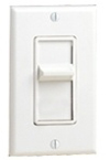 600W Decora Illuminated Decora SureSlide Incandescent Dimmer-Almond