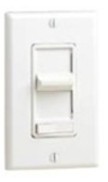 600W Decora Illuminated Decora SureSlide Incandescent Dimmer 3-Way-White