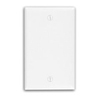Leviton 1-Gang Blank Wall Plate-Light Almond