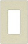 Leviton 1-Gang Decora Plus Screwless Wall Plate-Light Almond