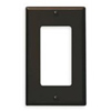 Leviton 1-Gang Decora Wall Plate-Brown