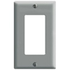 Leviton 1-Gang Decora Wall Plate-Gray